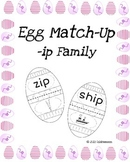 Egg Match-Up (Word Family -ip)