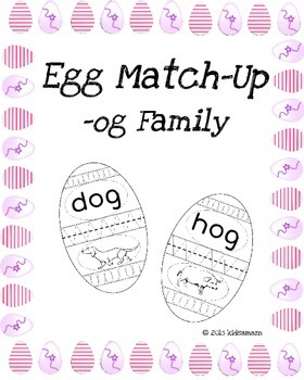Egg Match-Up (Word Family -og)
