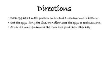 Egg Math