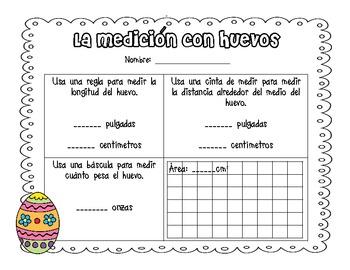 Egg Measurements