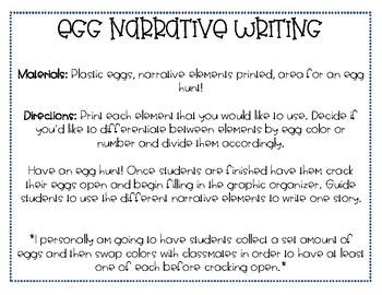 Egg Narrative Writing