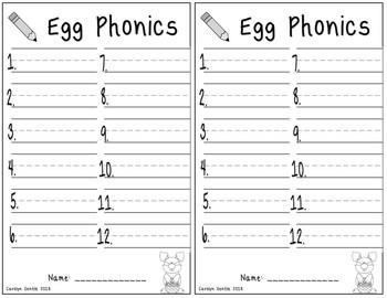 Egg Phonics!