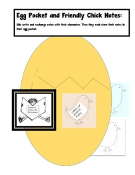 Egg Pocket and Friendly Chick Notes