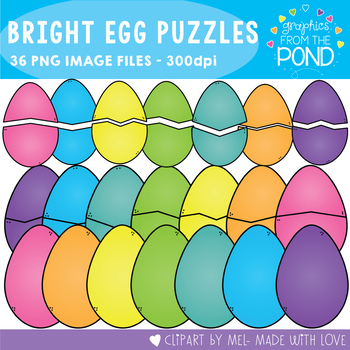 Egg Puzzles - Bright