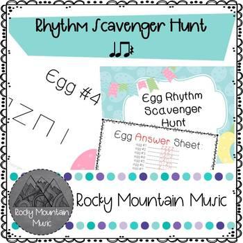 Egg Rhythm Scavenger Hunt