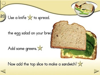 Egg Salad Sandwiches - Animated Step-by-Step Recipe - Regular
