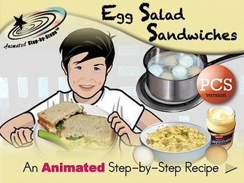 Egg Salad Sandwiches -Animated Step-by-Step Recipe PCS