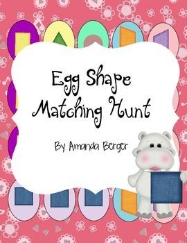 Egg Shape Matching Hunt