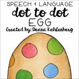 Egg {Speech & Language Dot Art}