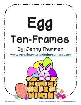 Egg Ten-Frames