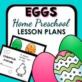 Egg Theme Home Preschool Lesson Plans