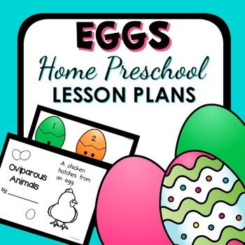 Egg Theme Home Preschool Lesson Plans