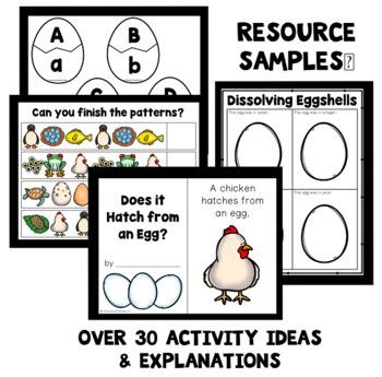 Egg Theme Preschool Lesson Plans