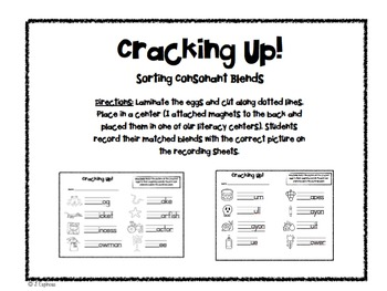 Egg-cellent Common Core Math and Literacy Fun!