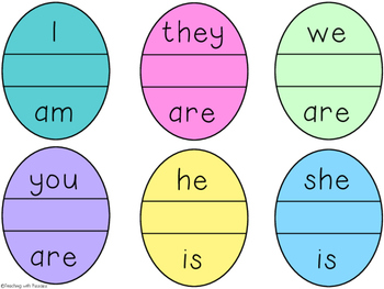 Egg-cellent Contractions Matching Game
