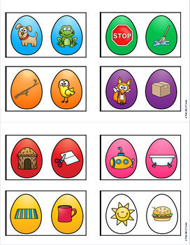 Easter Math & Literacy Centers for Pre-K and Kindergarten {BUNDLE}