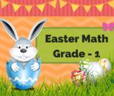 Egg-cellent Easter Math Worksheets for Grade 1