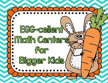 Egg-cellent Fraction Centers for Bigger Kids
