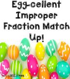 Egg-cellent Improper Fraction Match Up!