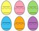 Egg-cellent Rhyming Game Freebie