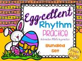 Egg-cellent Rhythm Practice PDFs {Bundled Set}