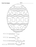 Egg-cellent Shapes and Colors