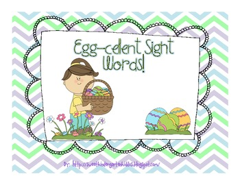 Egg-cellent Sight Words! Sight Words Game