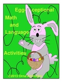 Egg-ceptional Math and Language Centers