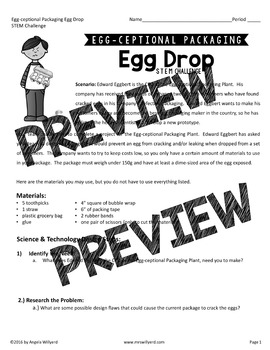 STEM Challenge: Egg Drop PPT - Grades 5-8