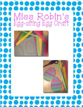Egg-citing Easter Egg Craft
