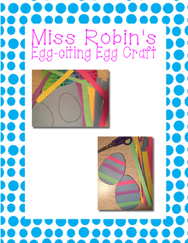 Egg-citing Easter Egg Craft