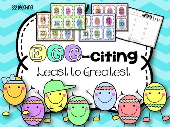 Egg-citing Least to Greatest