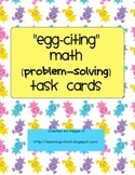 Egg-citing Math: Problem-Solving Task Cards