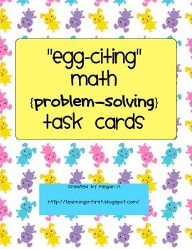 Egg-citing Math: Problem-Solving Task Cards