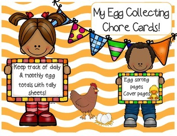 Egg collecting chore cards