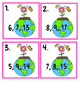 Earth Day Fact Family Math Center freebie