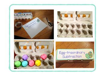 Egg-straordinary Subtraction Center