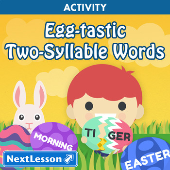 Egg-tastic Two-Syllable Words - Easter Activity