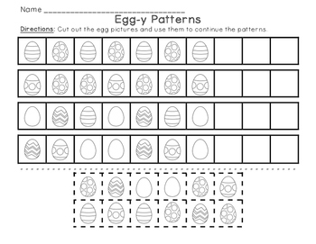 Egg-y Patterns