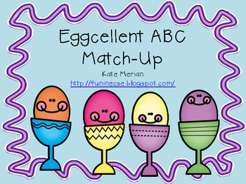 Eggcellent ABC Match Up