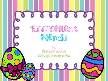 """""""Egg""""cellent Blends File Folder Game/Center"""