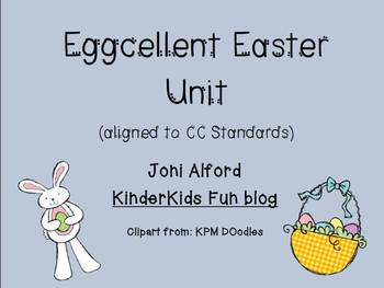 Eggcellent Easter Unit (aligned to Common Core standards)