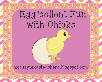 """""""Egg""""cellent Fun with Chicks"""