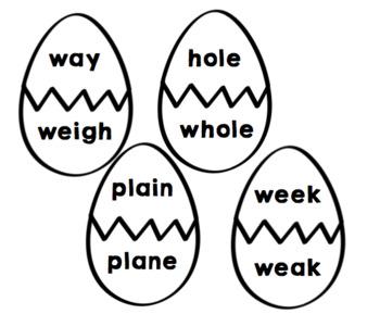 Eggcellent Homophones
