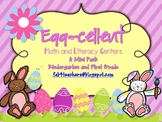 Easter ~ Egg-cellent Math and Literacy Centers...A Mini Pack