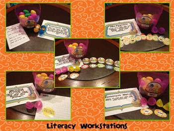 """""""Egg""""cellent Math and Literacy Centers/Workstations"""