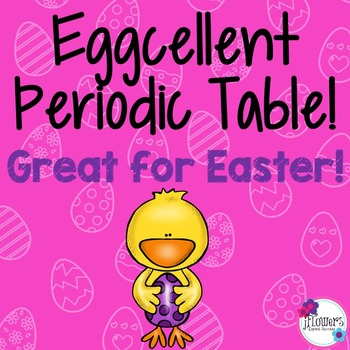 Eggcellent Periodic Table. Great for Easter!
