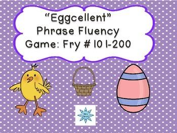 """""""Eggcellent"""" Phrase Fluency: Fry #101-200"""