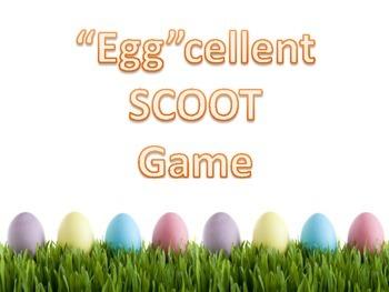 """Egg""cellent SCOOT Game"