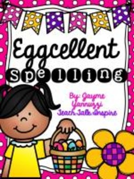 Eggcellent Spelling {A Hot Potato Easter Themed Activity}